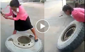 Girls tire service