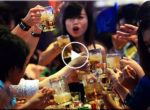 How drinking Vietnamese girl