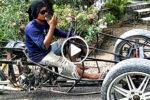Thai homemade tricykle