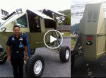 Thai army UFO vehicle