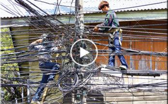 Thai electrician
